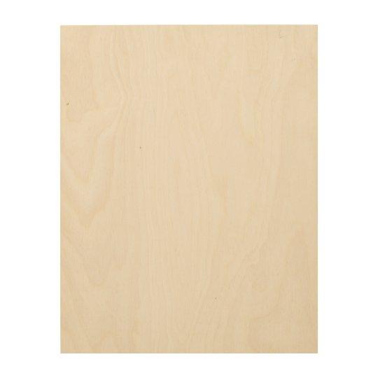 "28 cm x 35.6 cm (11"" x 14"") Wood Wall Art"