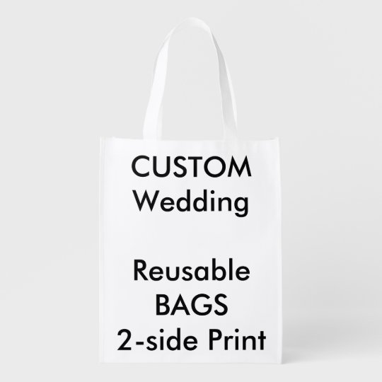 """Custom 12"""" x 16"""" Reusable Bag"""