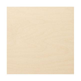 Custom 12x12 Wood Canvas