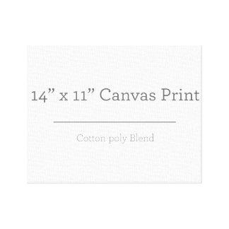 Custom 14 X 11 Canvas