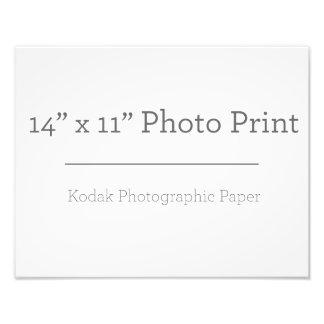Custom 14 x 11 Photo Print