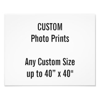 "Custom 14"" x 11"" Photo Print (or any custom size)"