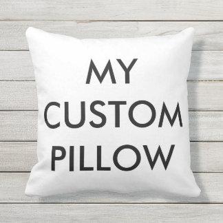 "Custom 16""x16"" Outdoor Poly Throw Pillow Template"