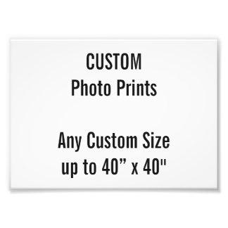 Custom 180 x 130 mm Photo Print UK Frame Size