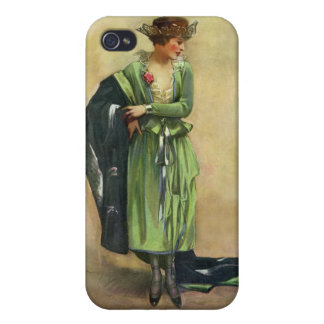 Custom 1920 French Fashion 4  Covers For iPhone 4