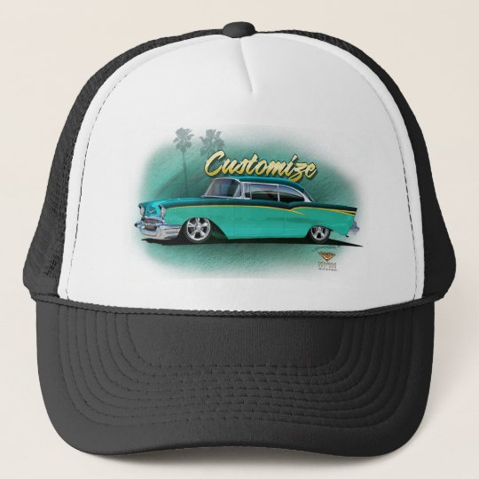 Custom 1957 Chevy baseball cap