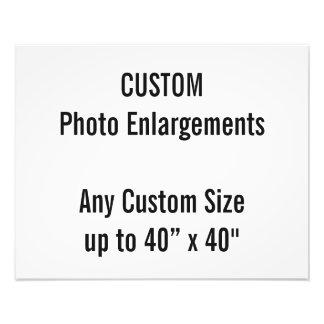 "Custom 20""x16"" Photo Enlargement up to 40""x40"""