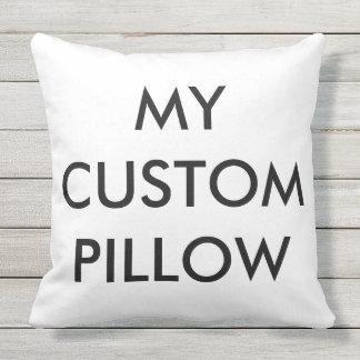 "Custom 20""x20"" Outdoor Throw Pillow Blank Template"