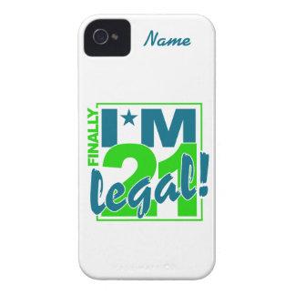 Custom 21 & Legal iPhone 4 Case-Mate