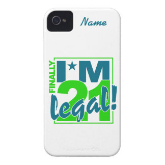 Custom 21 & Legal iPhone 4 Case-Mate iPhone 4 Case-Mate Cases