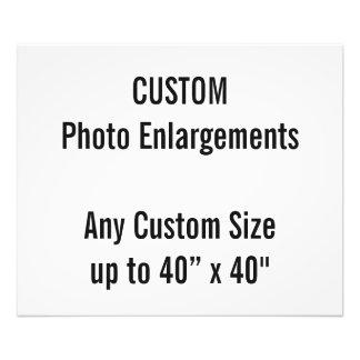 "Custom 24""x20"" Photo Enlargement up to 40""x40"""
