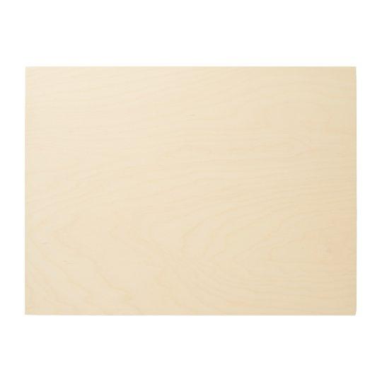 "61 cm x 45.7 cm (24"" x 18"") Wood Wall Art"
