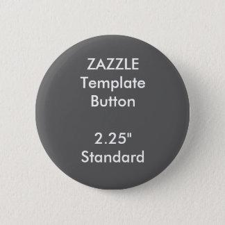 "Custom 2.25"" Round Button Blank Template"