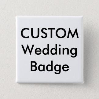 """Custom 2"""" Square Badge Pin"""