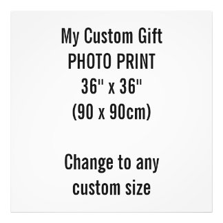 "Custom 36"" x 36"" Photo Print Template"