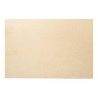 Custom 36x24 Wood Canvas