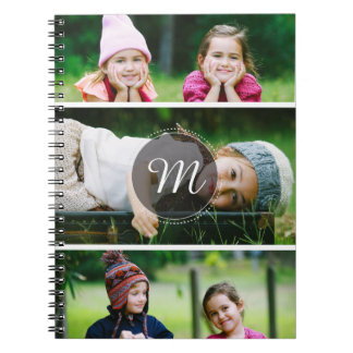 Custom 3 Photo Notebook