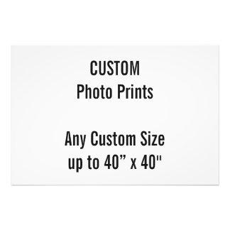 "Custom 40"" x 27"" Photo Print (or any custom size)"