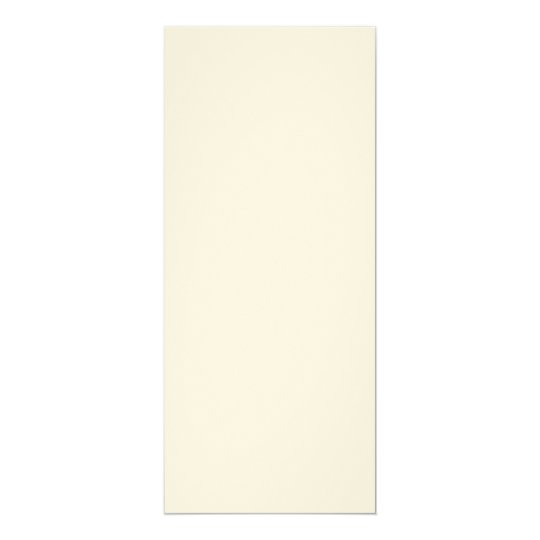 Felt Ecru 10.2 cm x 23.5 cm, Standard white envelopes included