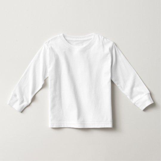 Toddler Long Sleeve T-Shirt, White