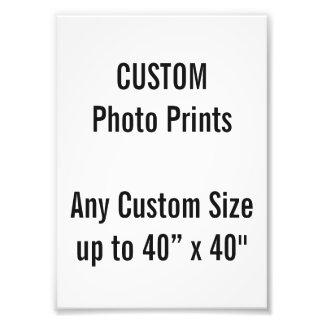 "Custom 5"" x 7"" Photo Print (or any custom size)"