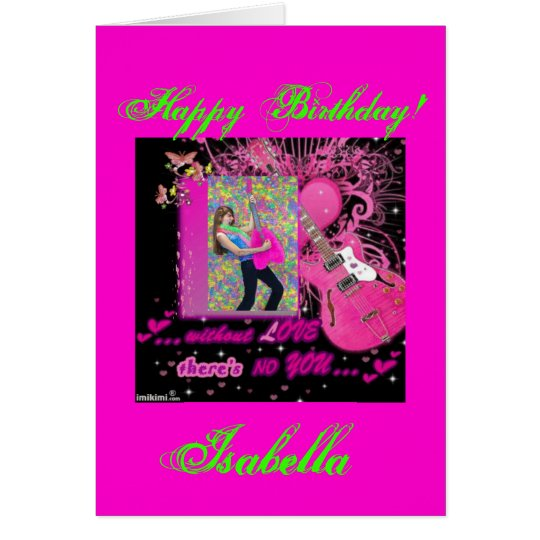 Custom 5x7 Happy Birthday Recycled Greeting Cards