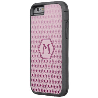 Custom 6/6s multi spiders pink monogram tough xtreme iPhone 6 case
