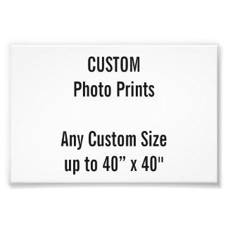 "Custom 6"" x 4"" Photo Print  US Frame Size)"