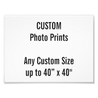 "Custom 8"" x 6"" Photo Print (or any custom size)"