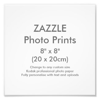 "Custom 8"" x 8"" Square Photo Print Template"