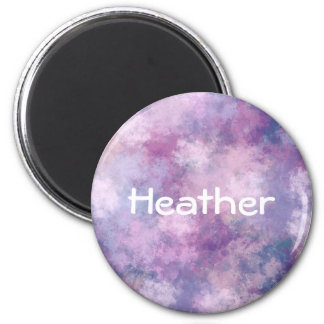 Custom Abstract Blue, Lilac, Pink Magnet