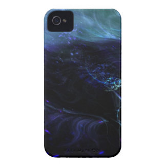 Custom Abstract iPhone Case-Blue and Purple iPhone 4 Covers