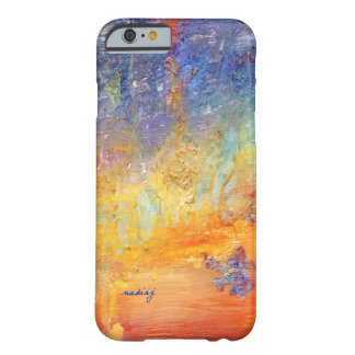 Custom Abstract Sunset Case