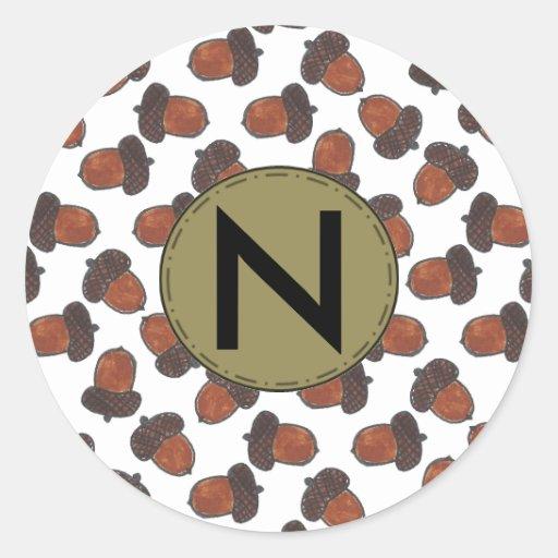 Custom Acorn Sticker