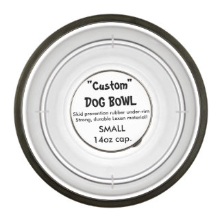 Custom Acrylic Dog Bowl - Small 14oz