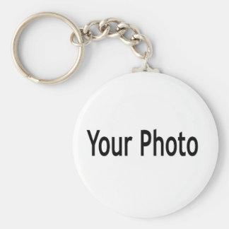 Custom  add your photo keychain