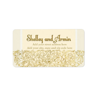 Custom address label 2 Shelley