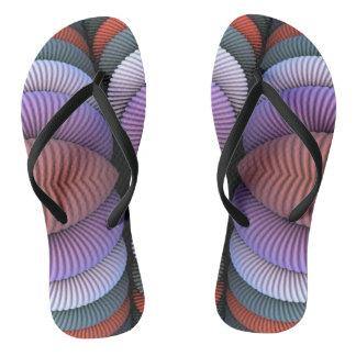 Custom Adult, Slim Straps Flip Flops
