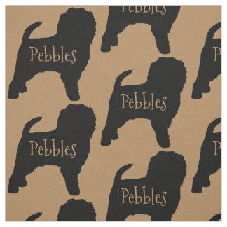 Custom Affenpinscher Dog Fabric