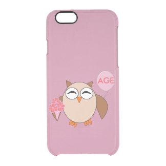 Custom Age Birthday Owl iPhone Case