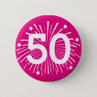 Custom age Birthday party badge pin buttons