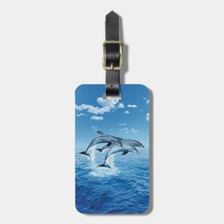 Custom Air Dolphin Luggage Tag