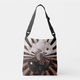 Custom All-Over-Print Cross Body Bag/Pisces-Zodiac Crossbody Bag