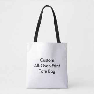 Custom All-Over-Print Tote Bag
