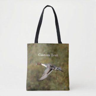 Custom All-Over-Print Tote Bag - Northen Pintail 3