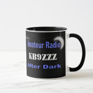 Custom Amateur Radio After Dark Mug