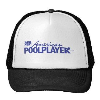 Custom American Pool Player - Blue Trucker Hats