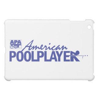 Custom American Pool Player - Blue iPad Mini Cover