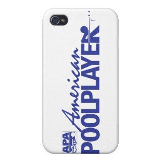 Custom American Pool Player - Blue iPhone 4 Cover