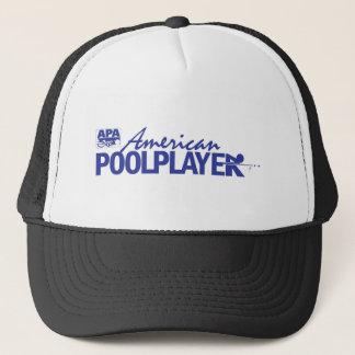 Custom American Pool Player - Blue Trucker Hat